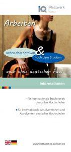 Arbeiten neben und nach dem Studium – auch ohne deutschen Pass