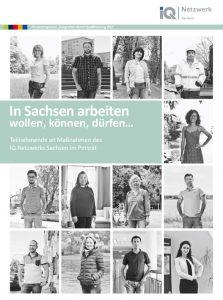 Heft Cover In Sachsen arbeiten wollen, können, dürfen…