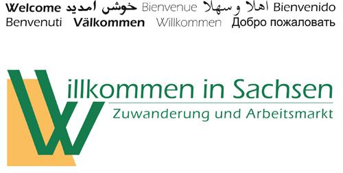Verlinkung zur Seite Willkommen in Sachsen