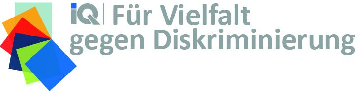 Logo IQ für Vielfalt gegen Diskriminierung